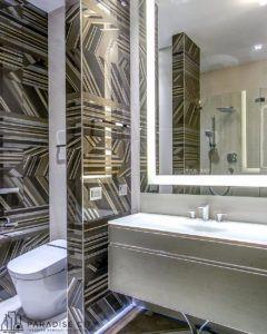 Klasyczna łazienka z oryginalnymi, włoskimi płytkami