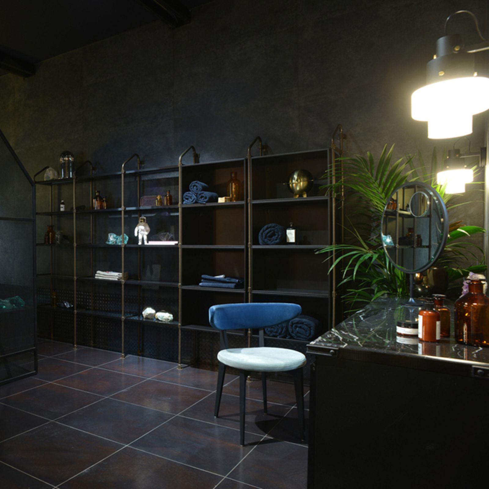 Industrialna łazienka z kolekcji Diesel w Bellamica