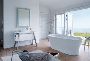 Biała łazienka Duravit w Bellamica