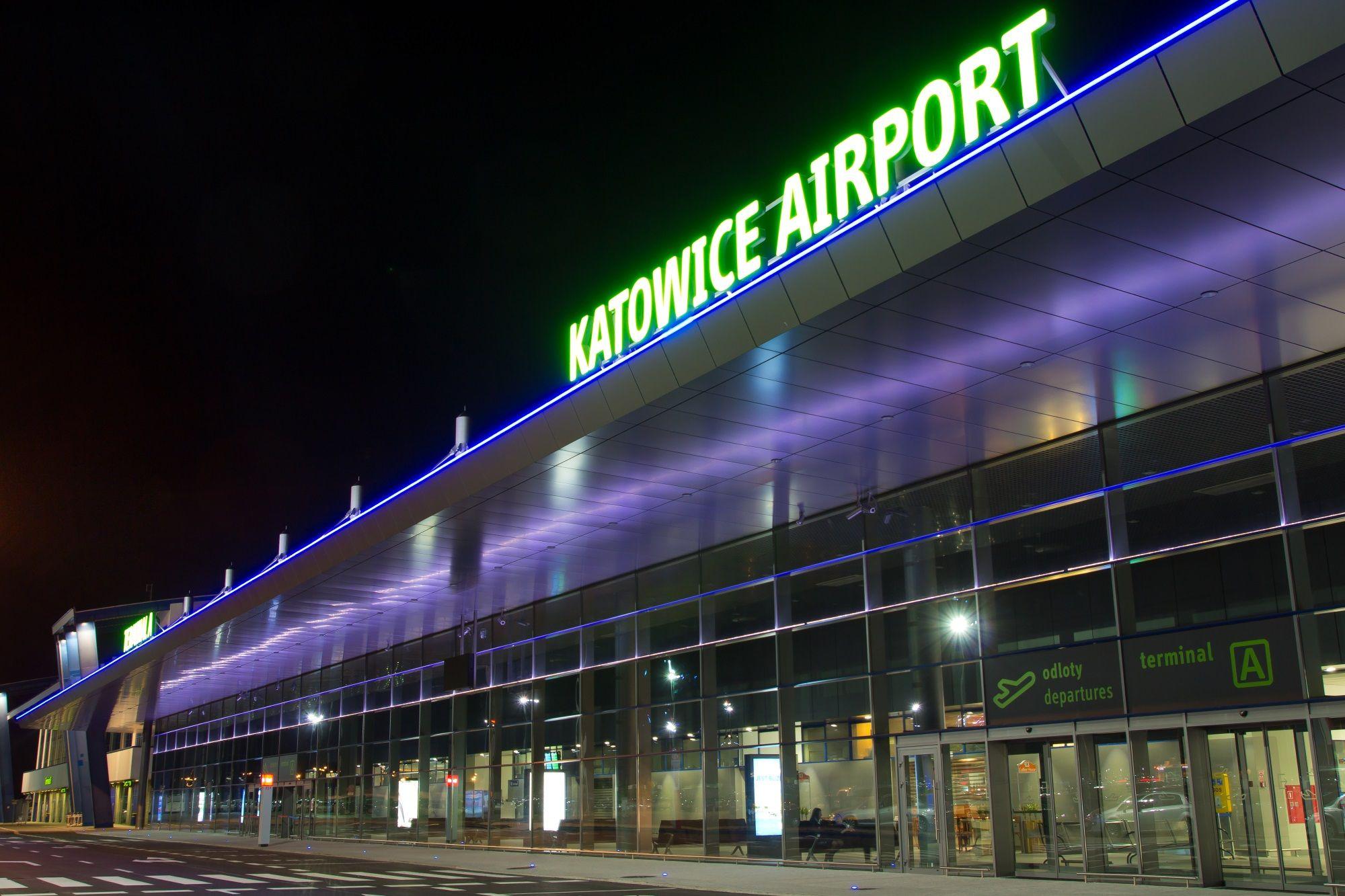Hala odlotowów portu lotniczego Katowice Airport