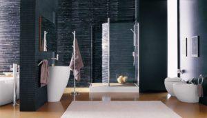 Aranżacja łazienku w salonie Bellamica projektu Laufen