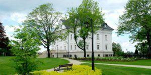 Pałac Borynia dla którego Bellamica realizował projekt płytek
