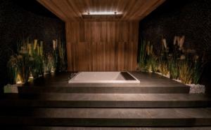 Awangardowe wnętrze łazienki w salonie Bellamica