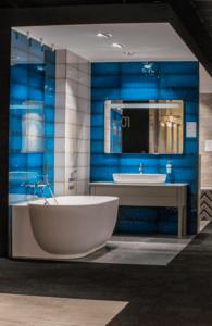 Nowoczesne wnętrze łazienki w salonie Bellamica w Piekarach Śląskich