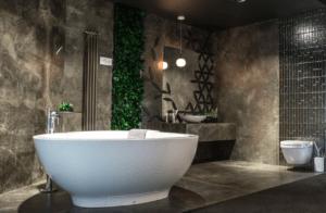 Designerska aranżacja łazienki w salonie Bellamica
