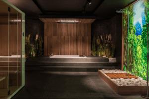 Naturalna łazienka w salonie Bellamica